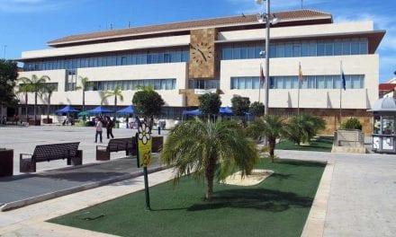 El Ayuntamiento de San Javier procede a cerrar parques y jardines