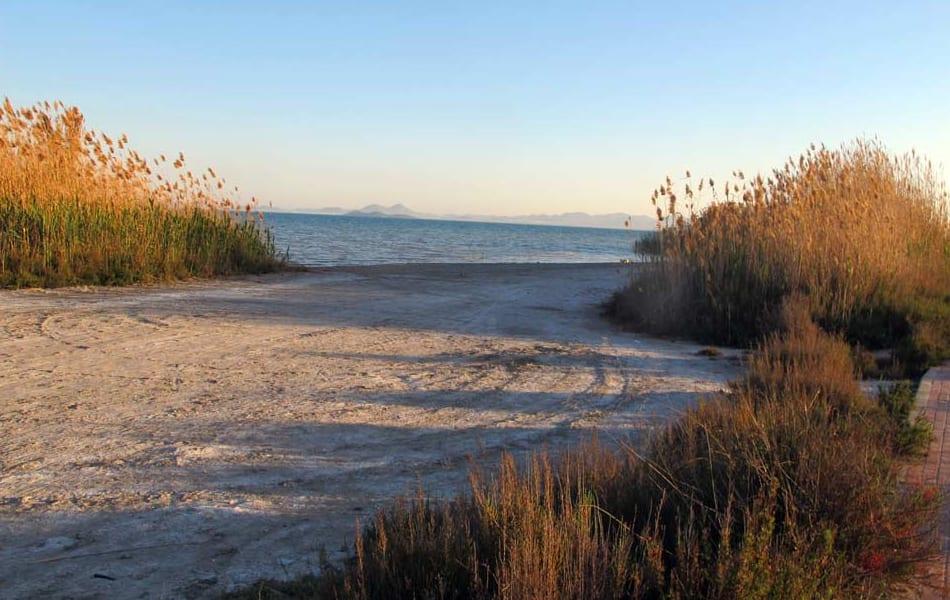 Playa de La Hita en San Javier y Los Alcazares