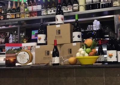 Cata de vinos Piedra en Tapería Muncho en Santiago de la Ribera
