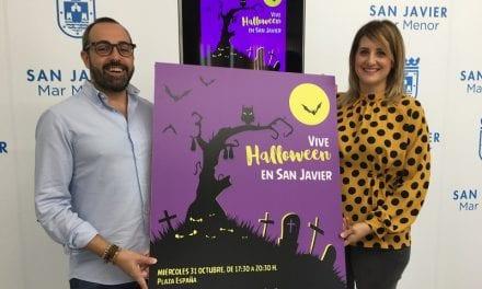 Todo preparado para Halloween 2018 en San Javier