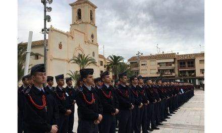 El Ayuntamiento de San Javier recibe a los alumnos de la AGA