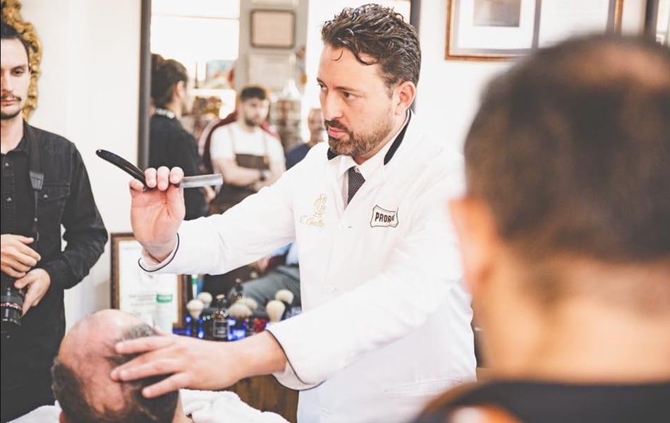 La barbería de Enrique Gallego en Santiago de la Ribera