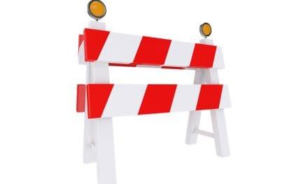 Relación de carreteras cortadas al tráfico por las lluvias en toda la Región de Murcia