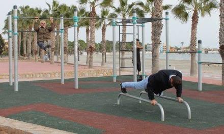 Un nuevo gimnasio al aire libre en La Playa de Las Palmeras