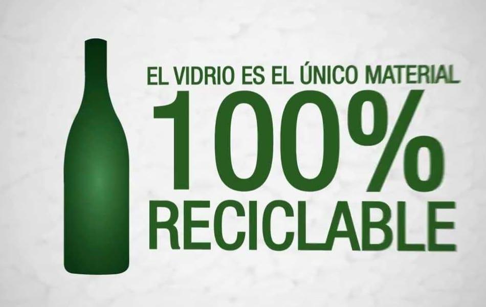 El reciclaje de vidrio se aumenta un 33,4% en los últimos diez años en la Región