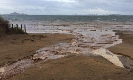 Medidas para minimizar las entradas de agua a través de las ramblas al Mar Menor
