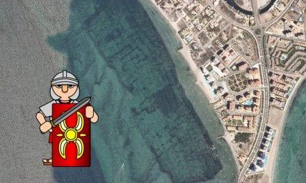 ¿ Hay un poblado romano hundido en el Mar Menor ?