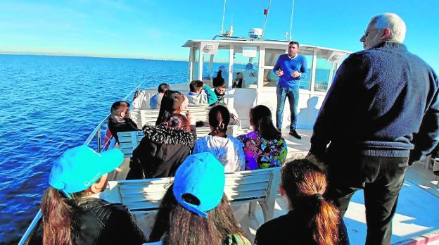 Un nuevo proyecto para una ruta ambiental en el Mar Menor para potenciar ecoturismo