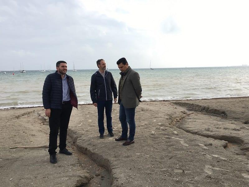 El Partido Popular quiere cambiar la ley para agilizar los tanques de tormenta del Mar Menor