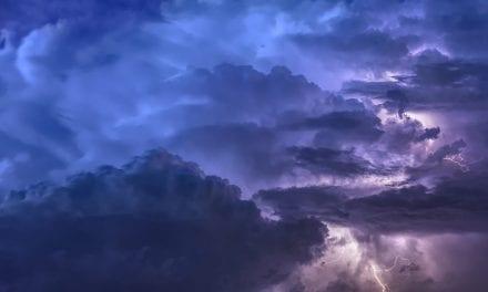 Tormenta y huracán en San Javier