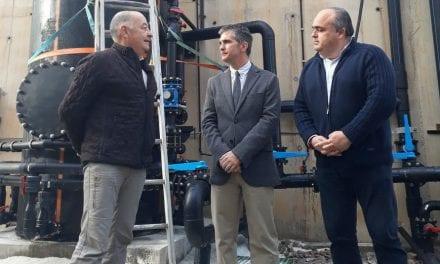 Ayuda de 200.000 euros para mejorar en el sistema de desnitrificación de salmueras
