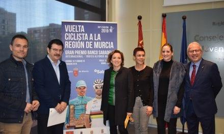 La Vuelta Ciclista de la Región de Murcia en San Javier