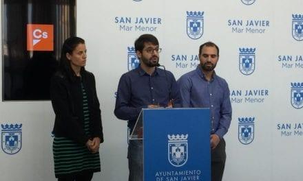 Ciudadanos  San Javier exige la retirada de amianto de los colegios para apoyar los presupuestos