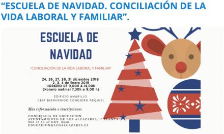 Escuela de Navidad en Los Alcázares