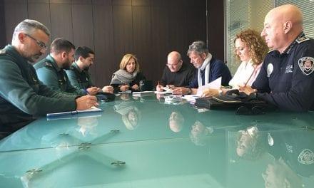 El Ayuntamiento de San Javier solicita a la Delegación del Gobierno un refuerzo de Guardia Civil