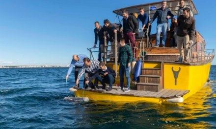 El 'Nautilus' en el Mar Menor