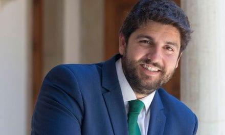"""Fernando López Miras se """"daría por satisfecho"""" si el Estado invirtiera lo mismo que la Comunidad en el Mar Menor"""
