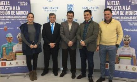 Ayuntamiento de San Javier y La Vuelta Ciclista a Murcia firman el acuerdo para acoger la llegada de la primera etapa