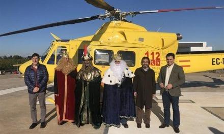 El hospital los Arcos recibió a los Reyes Magos