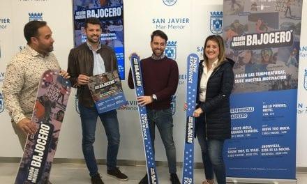 """""""Región Murcia Bajo Cero"""" anima a los jóvenes del Mar Menor a practicar deportes de nieve"""