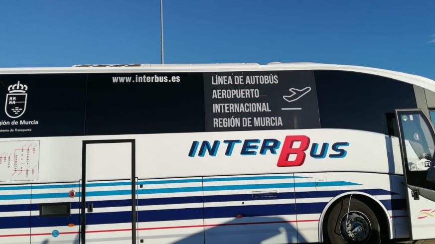 Horarios de autobús al aeropuerto internacional de Murcia Corvera
