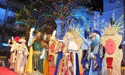 Los Reyes Magos llegan a San Pedro del Pinatar