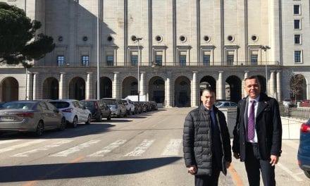 El Ayuntamiento de San Javier plantea al Ministerio la concesión municipal del balneario Los Arcos y urge a la resolución de un fondeadero en el Atalayón