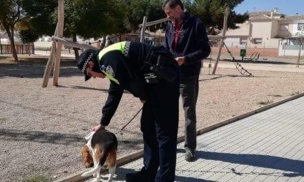 La Policía Local de San Javier inicia una campaña de control y concienciación sobre el microchip en mascotas