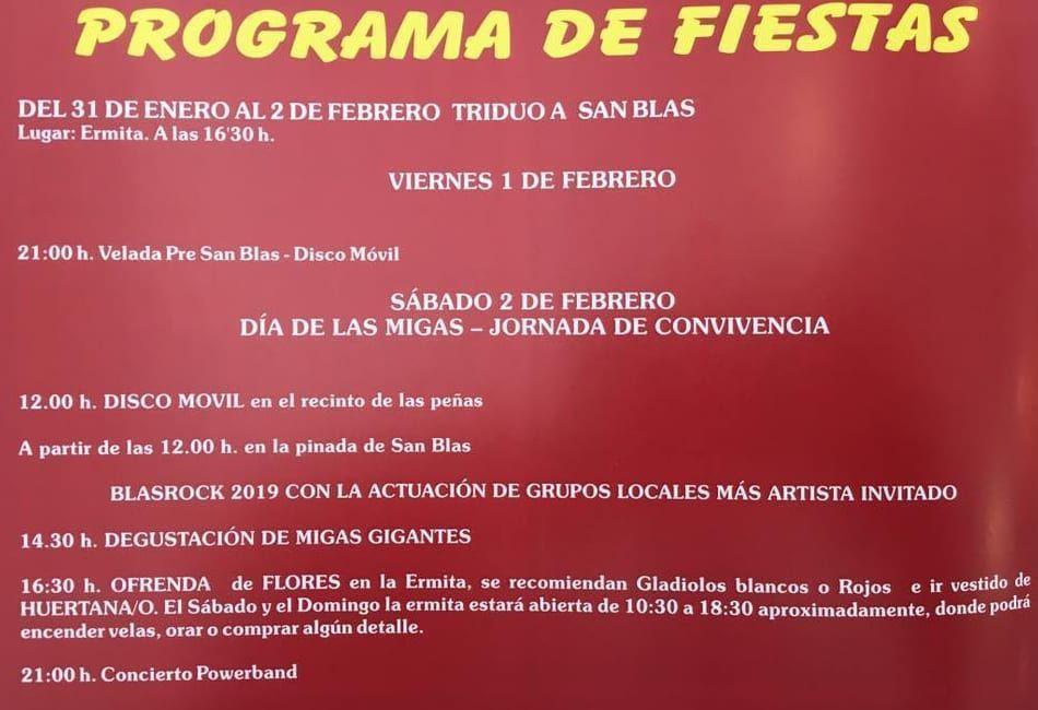 Romeria de San Blas 2019