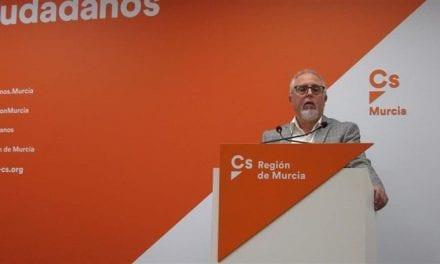 El afiliado de Cs de San Javier se presenta a las primarias de Cs para las europeas