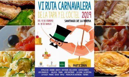 Horarios de los establecimientos de la ruta carnavalera 2019 de la tapa y el coctel en Santiago de la Ribera