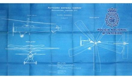 Recuperada la documentación original del autogiro de Juan de la Cierva