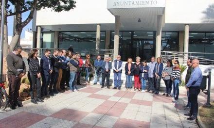 El Ayuntamiento de San Pedro del Pinatar se suma a los actos conmemorativos del 11M con un minuto de silencio