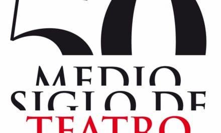 El nuevo logo de su 50 Aniversario del Festival de Teatro de San Javier 2019