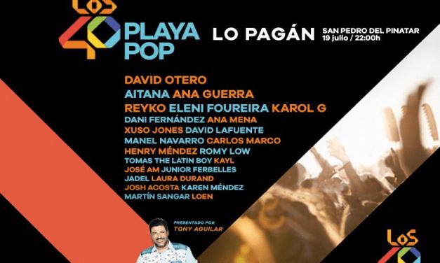 Beret cierra el cartel de un 40 Playa Pop 2019 en Lo Pagán