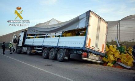 Detenido un camionero en San Pedro del Pinatar  que sextuplicaba la tasa de alcohol