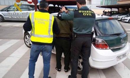 Un experto delincuente dedicado a robar en viviendas del Campo de Cartagena ha sido detenido