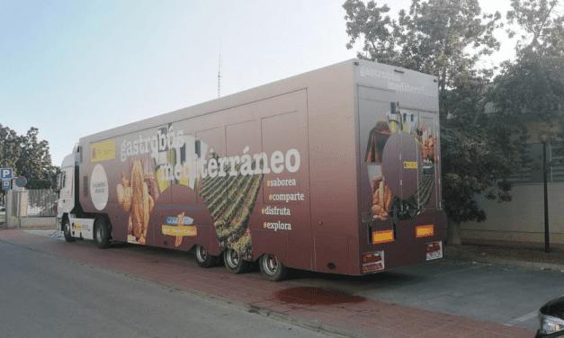 Gastrobús Dieta Mediterránea en San Javier hoy 30 de abril 2019