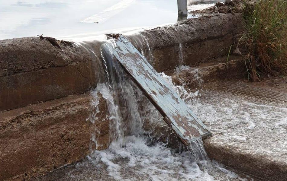 Movimiento Ciudadano de Cartagena denuncia nuevo vertido al Mar Menor en Playa Paraíso y Playa Honda