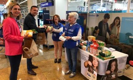 Recogida de alimentos en Carrefour San Javier – Operación Kilo