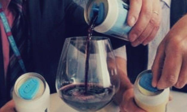 El vino en lata llega con fuerza y  tiene mucha aceptación entre los consumidores