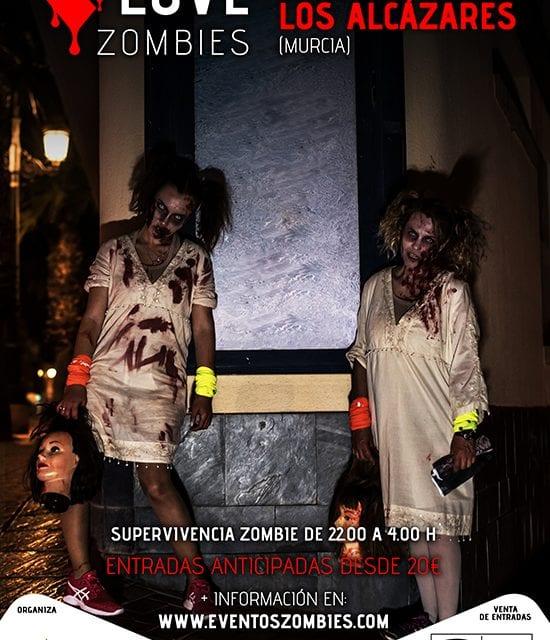 En los Alcázares ya está todo preparado para su noche zombie