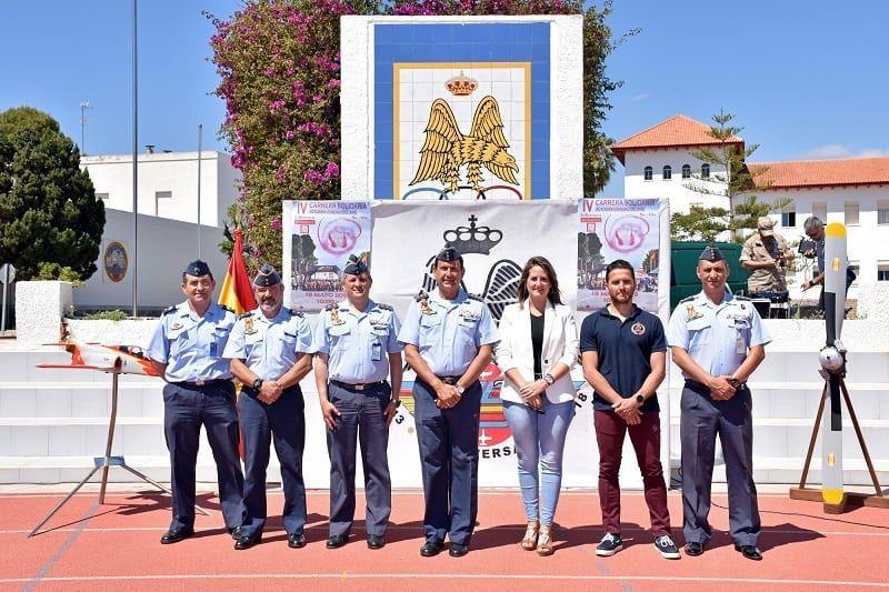 La AGA en San Javier volverá a abrir sus puertas a la Carrera Solidaria Academia General del Aire, el 19 de mayo 2019