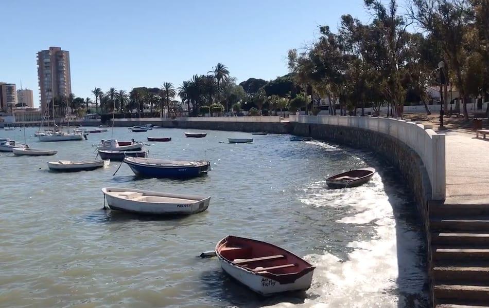 Mar Menor – Paseo Atalayón, Santiago de la Ribera 10 de mayo 2019