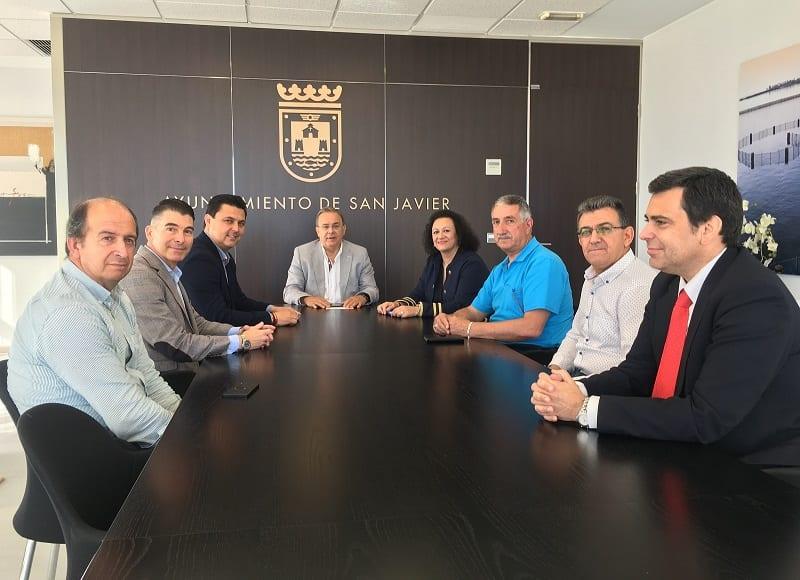 Comunidad, Ayuntamiento de San Javier y taxistas del municipio San Javier trabajan en la potenciación del sector del taxi local
