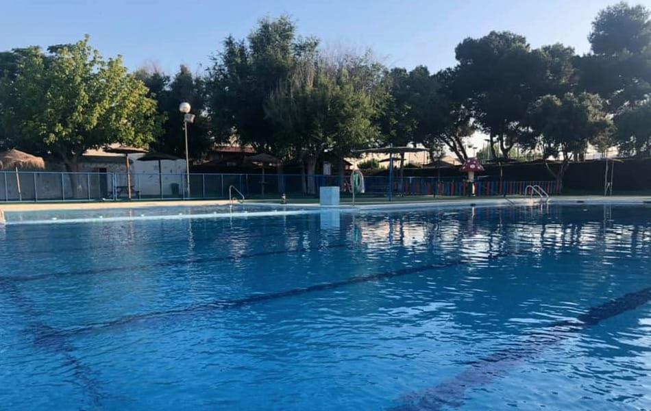 Apertura de la piscina de verano de San Javier el 8 de junio 2019