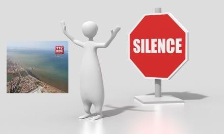 La controversia vuelve al Mar Menor por una foto publicada y retirada en Twitter por el 112