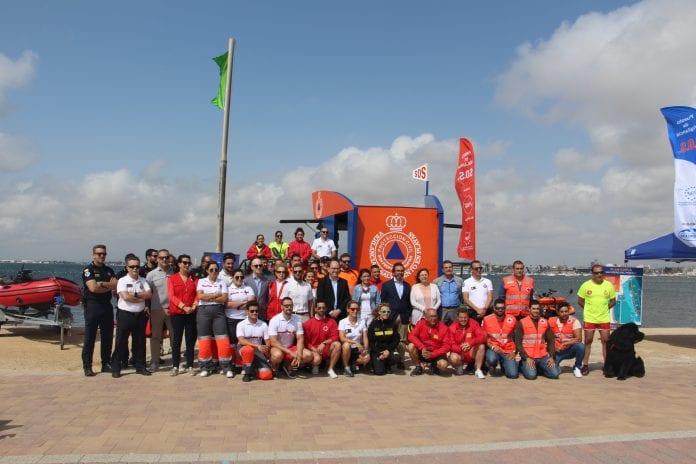 Las playas de San Pedro del Pinatar estarán vigiladas por 42 socorristas en el verano 2019
