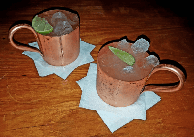Maori Cocktail Bar - Moscow Mule