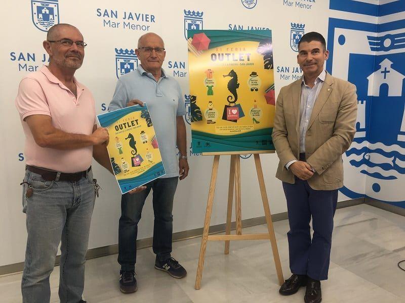 El Outlet de Santiago de la Ribera 2019, San Javier en la explanada Barnuevo